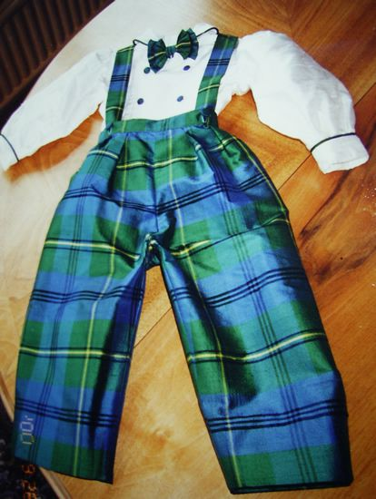 Baby Tartan Outfit