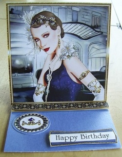 Happy Birthday 1920s lady