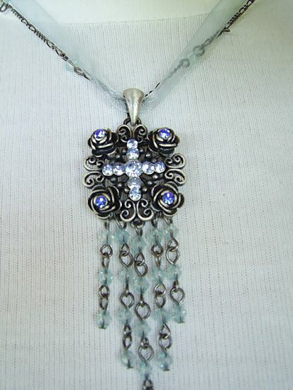 Ornate-Cross-necklace