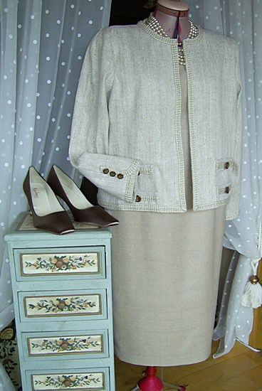 Chanel style suit