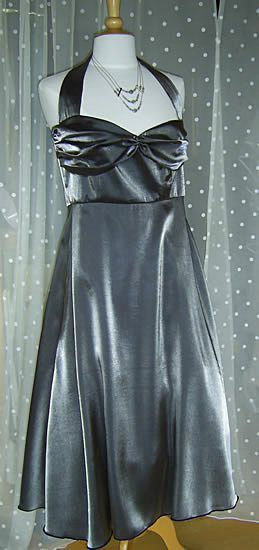 Graphite 50s style dress