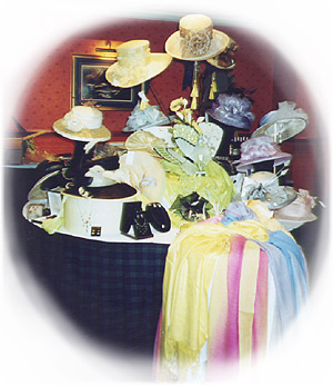 Weddings hats collection