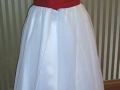 Red-and-white-glower-girl-dress