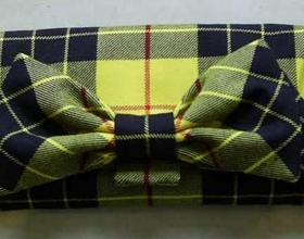 Handmade Clutch Bag in Macleod Tartan