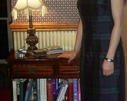 Black-Watch-tartan-silk-dress