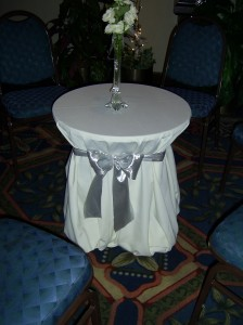 wedding table decoration Florida